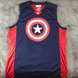 Marvel Basketball Jersey